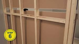 rona how to build an interior wall
