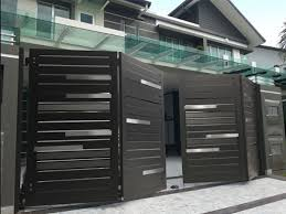 Folding Main Gate Styles At Life In 2020 House Gate Design House Main Gates Design Front Gate Design