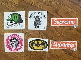 Monster Guns Coffee Sons Of Anarchy Batman Supreme Vinyl Decal Sticker 4 8 4 95 Picclick