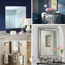 9 style ideas for bathroom mirrors