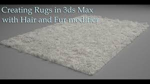 3ds max with hair and fur modifier