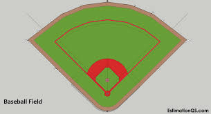 How To Build A Baseball Field Natural Grass Pitch With Sketch Drawings Estimation Qs
