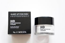make up for ever hd powder paper