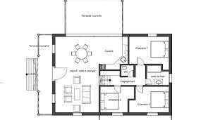 plan de plans de maison moderne 3
