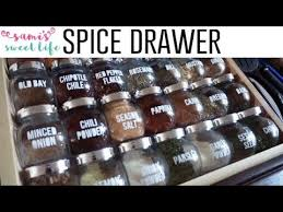 diy spice drawer makeover ikea diy