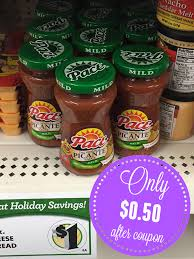 pace picante sauce only 0 50 at dollar
