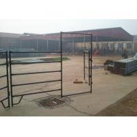 Australia Standard Steel Cattle Fence Galvanized Horse Fence Panels With 5 6 Rail Of Steel Cattle Fence