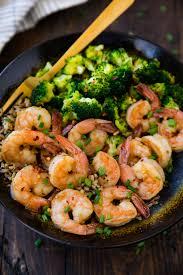Healthy Honey Garlic Shrimp - Kim's ...