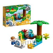 Lego Duplo Jurassic World Gentle Giants Petting Zoo 10879 Building Kit 24 Pieces Shopee Philippines