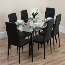 dining table and chairs round room