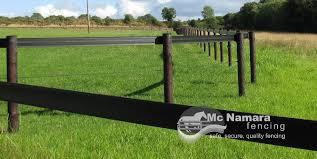 Flexible Rail Horse Fencing Mcnamara Fencing