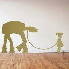 Banksy At At Walker Pet Wall Decal The Decal Guru