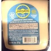 jarlsberg reduced fat swiss cheese