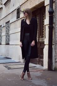 wear leather pants outfit ideas 2020