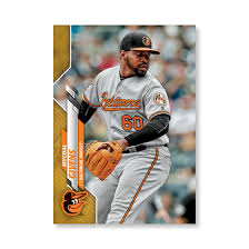 Mychal Givens 2020 Topps Series 1 Base Card Poster Gold Ed. # to 1