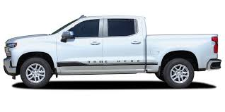 2019 2020 Chevy Silverado Stripes Rocker One Door Decals Lower Rocker Panel 3m Vinyl Graphics Kit 2021