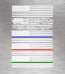 00 06 White Suburban Yukon American Flag Decal Xl Chevy Gmc Sticker Onlineamericanstore