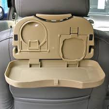 auto car back seat table drink food cup