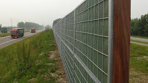 Noistop Noise Reducing Fencing Por Mobilane Archello