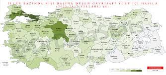 Türkiye İller Bazında Milli Gelir Haritası – @DrDataStats