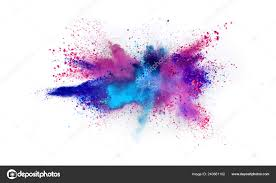 background color powder explosion