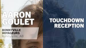 Touchdown Reception vs Father Mercredi - Aaron Goulet highlights - Hudl