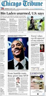 Newspaper Chicago Tribune (USA ...