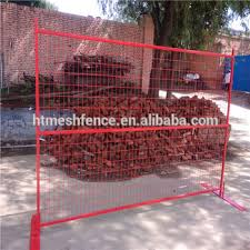 Canada Red Powder Coating Fences Construction Site Temporary Fence Portable Safety Fence Buy Temporary Construction Fencing Perimeter Fencing Protection Of Construction Sites Safety Barrier Fence Product On Alibaba Com