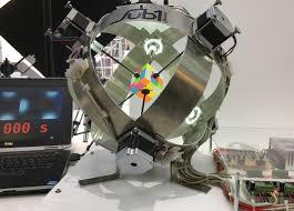 new record robot solves rubik s cube