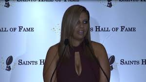 Racquel Smith's Hall of Fame acceptance speech