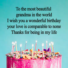birthday messages for grandmother occasions messages