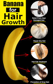 benefits of banana for hair growth