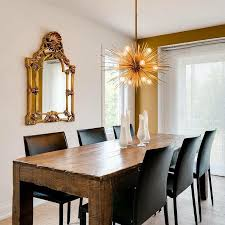 reclaimed wood dining table with black