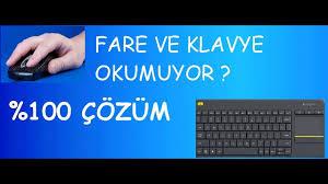 Fare Ve Klavye Çalışmıyor %100 Çözüm - YouTube
