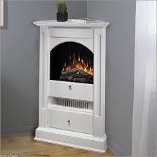 small corner propane fireplace living