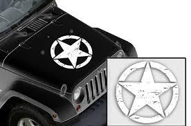 Universal Army Star Decal Vehicle Hood Vinyl