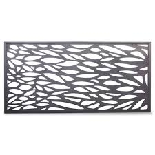 Blooma Neva Decorative 1 2 Fence Panel W 1 79m H 0 88m Departments Diy At B Q