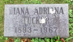 Diana Adriana Jackson Tucker (1893-1967) - Find A Grave Memorial
