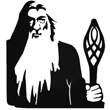 Lord Of The Rings Gandolf Vinyl Decal Sticker