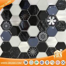 glass aluminum stone mosaic tile