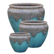 outdoor planters ceramic flower pots