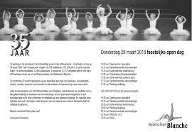 Balletschool Blanche Viert 35e Verjaardag Westervoortplaza