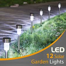 boomile 12 pack solar lights outdoor