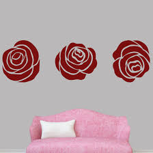Sweetumswalldecals Set Of Roses Wall Decal Wayfair