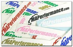 Maperformance Retro Window Decals