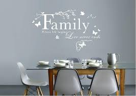 family quotes wall decals home friends spiritual quote decal decor