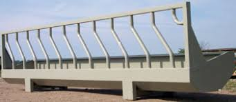 Forever Products Fence Line Bunks Grain Feedbunks Big Bale Skid Feeders