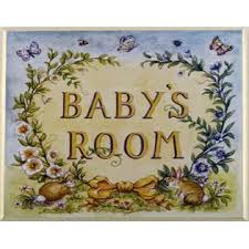 The Kids Room By Stupell Baby S Room With Bunnies Square Wall Plaque