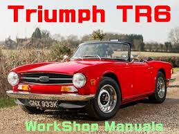 triumph triumph tr6 work manual