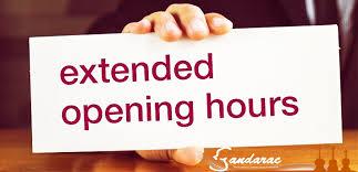 Extended Hours | Sandarac